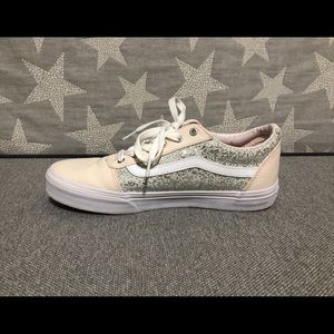 Vans 'US Missy' Blush/Sparkle Sneakers